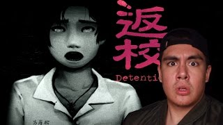 DETENTION WAS SCARY, BUT NOT THIS SCARY! | Detention 返校 [1] (Taiwanese Horror)