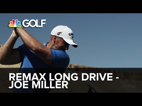 RE/MAX World Long Drive Championship 2014 - Joe Miller | Golf Channel