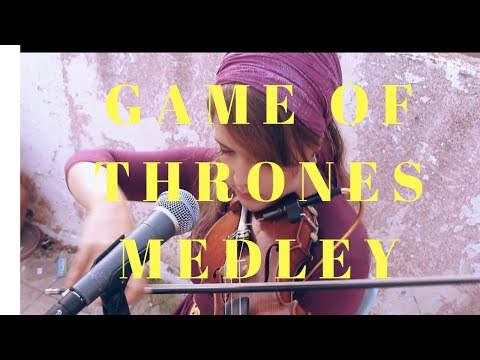 Game of Thrones Violin and Guitar MEDLEY!!!!!!!! Ariella Zeitlin and Liad Abraham