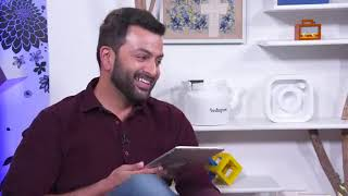 Prithviraj Live Video from Facebook Office - about #9, SRK, Amitabh Bachchan, Mohanlal
