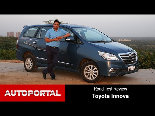 Toyota Innova Test Drive Review - Autoportal