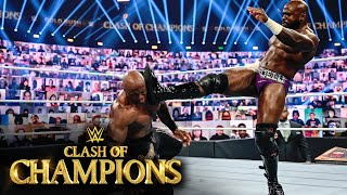 Apollo Crews brings the fight to Bobby Lashley: WWE Clash of Champions 2020 (WWE Network Exclusive..