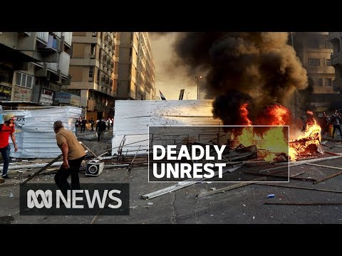 Protests in Iraq and Lebanon demand end to corruption | ABC News