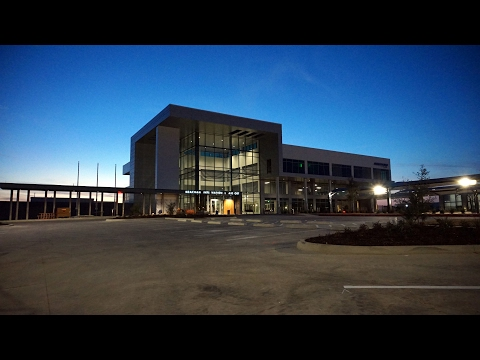 Fort Worth Meacham International Airport Terminal Dedication