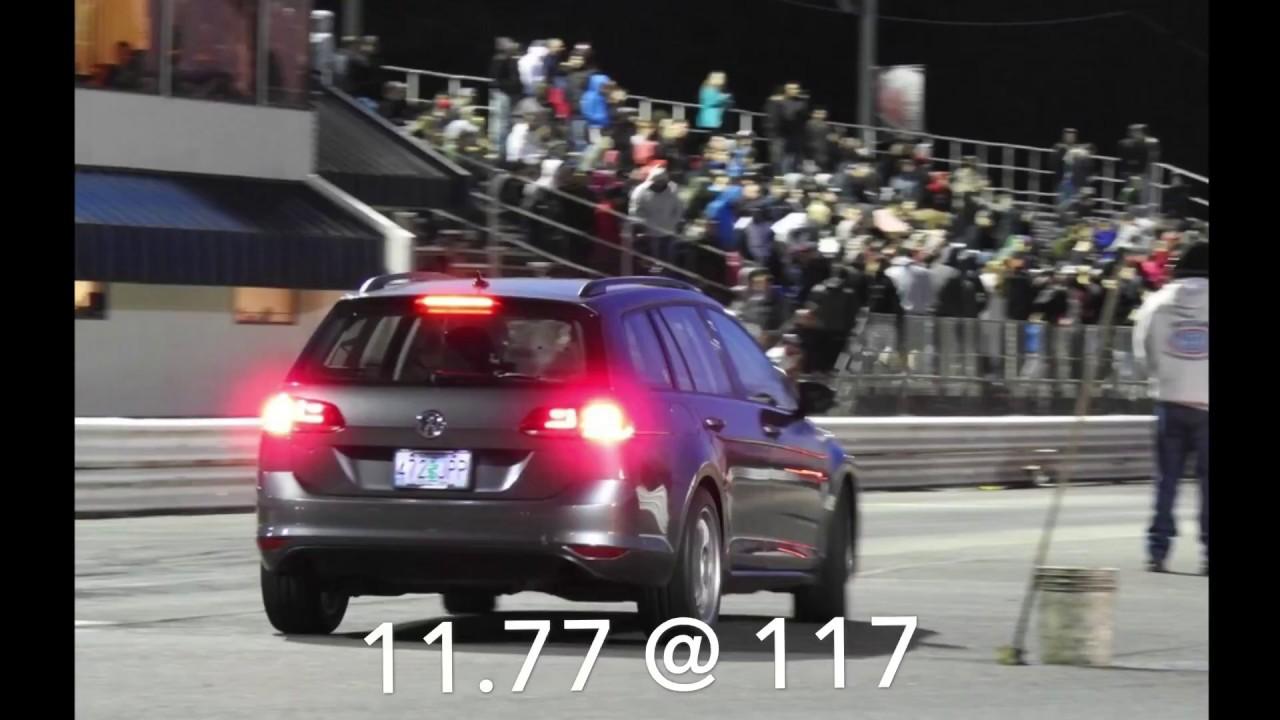 MK7 Golf Sportwagen 1/4 Mile 11 77 @ 117