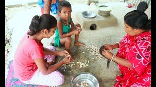 গ্রাম্য পদ্ধতিতে কাঁঠালের বিচি দিয়ে বানানো মজাদার এই পাকোড়া রেসিপি    Healthy Jackfruit Seed Recipe