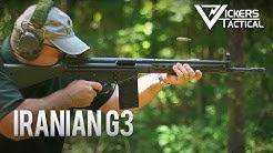 Iranian G3 Battle Rifle