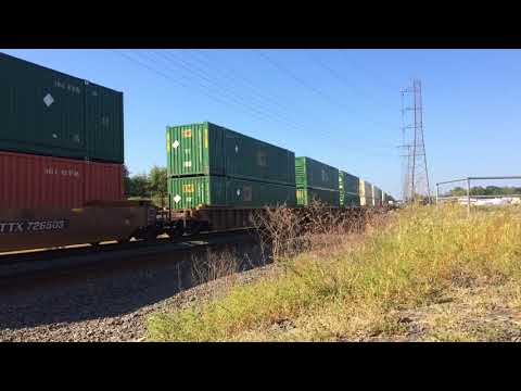 Norfolk Southern Intermodal Horn Show Bound Brook, NJ