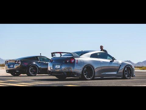 No Fly Zone Half Mile Race McLaren, Corvette, GTR & Porsche