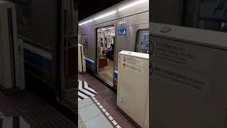 福岡市営地下鉄1000N福岡空港行き 博多駅発車