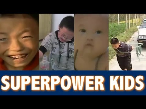 Kids With Superhuman Powers In China