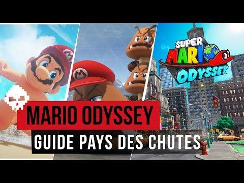 Super Mario Odyssey - Les Lunes: Pays des Chutes 1 à 17