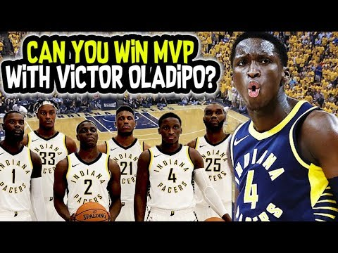 CAN YOU WIN MVP WITH VICTOR OLADIPO? IS IT IMPOSSIBLE?! NBA 2K18 CHALLENGE