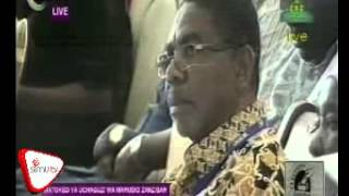 Jecha Atangaza Mshindi Wa Kiti Cha Urais Zanzibar.