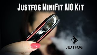 Justfog MiniFit refillable AIO Kit Review