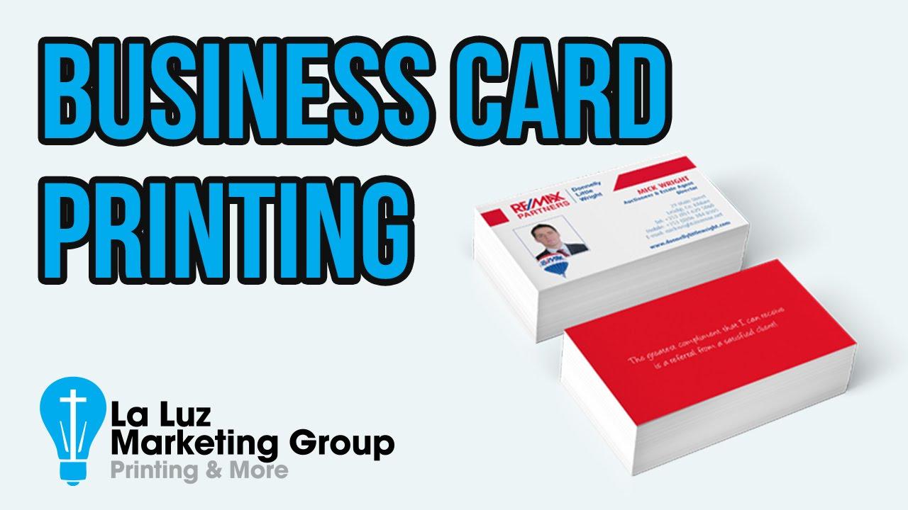 Business cards san antonio tx 210 202 1800 la luz printing youtube business cards san antonio tx 210 202 1800 la luz printing colourmoves