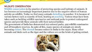 Protection and Conservation of Environment