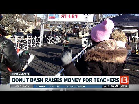 Donut Dash Fundraiser For Teachers