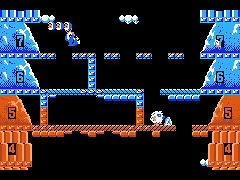 Game Boy Advance Longplay [136] Classic NES Series: Ice Climber