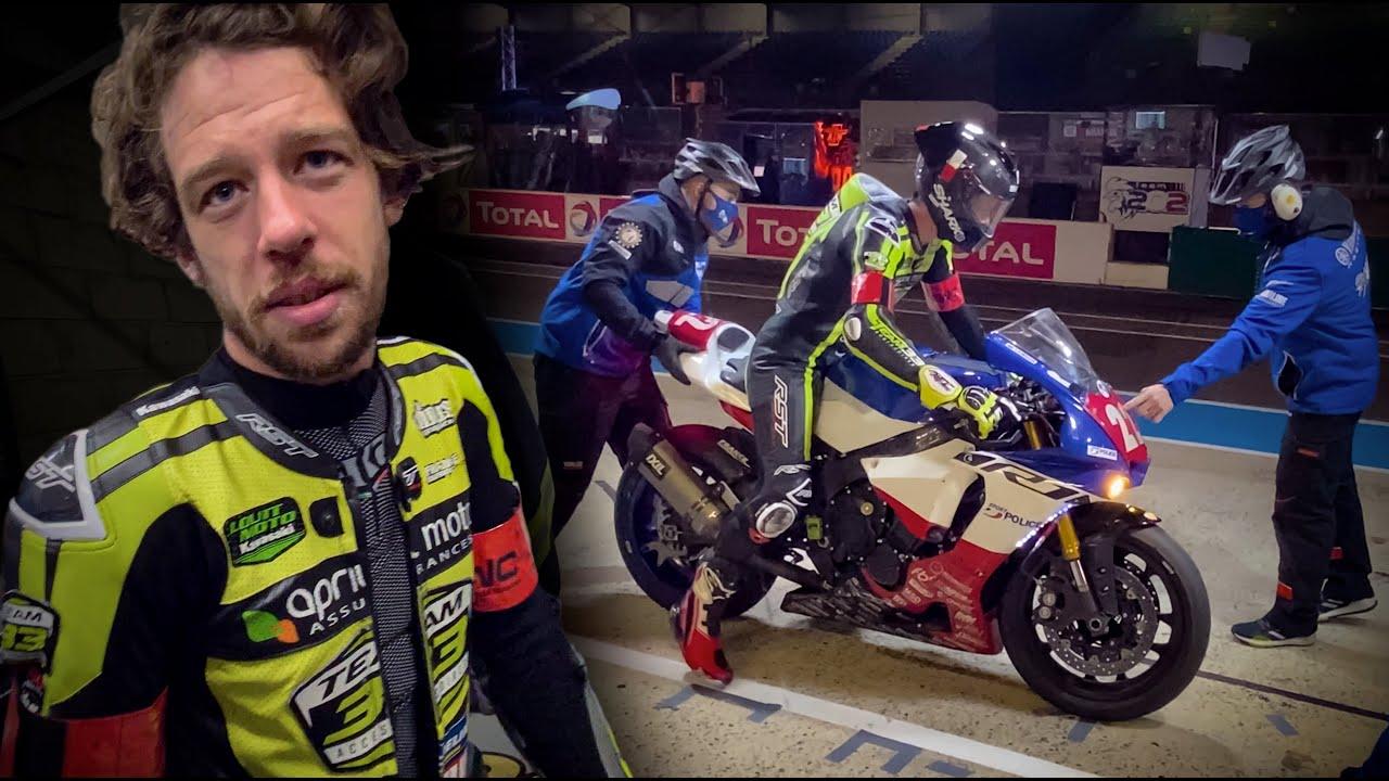 Adrian Parassol : VLOG - Mes premières 24H du Mans Moto
