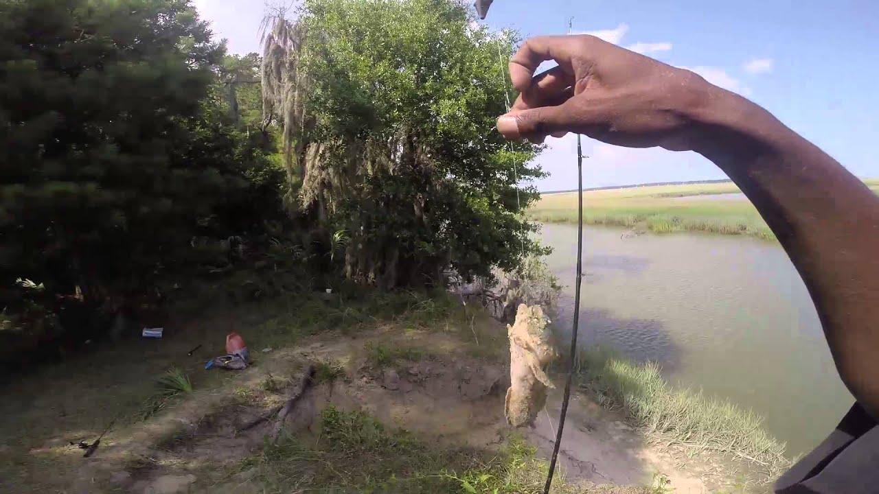 Fishing in savannah ga youtube for Fishing charters savannah ga