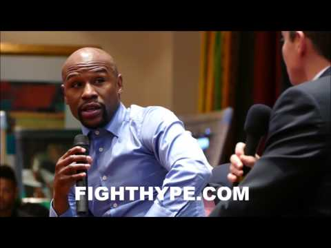 "FLOYD MAYWEATHER REMEMBERS ""EASY"" KNOCKOUT OF RICKY HATTON; REVEALS WHAT WENT THROUGH HIS MIND"