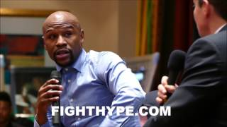 First Take Floyd Mayweather