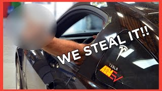 homepage tile video photo for We STEAL the Tesla-Swapped Mustang!