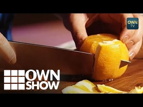How to Cut an Orange Like a Pro! | #OWNSHOW | Oprah Online