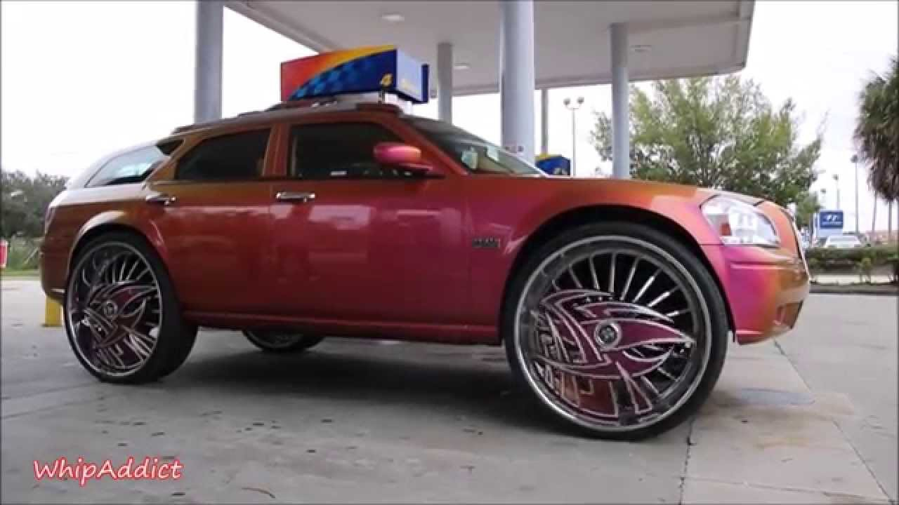 2015 Dodge Magnum >> Whipaddict Dodge Magnum R T On 32 Dub Floaters Kandy