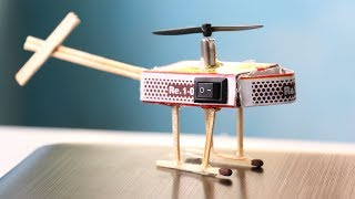 1.0 How To Make Helicopter Matchbox Helicopter Toy Diy