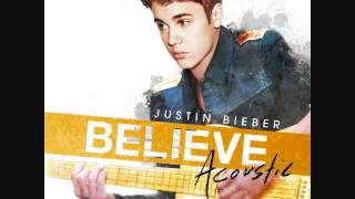 Justin Bieber Die in your arms Live