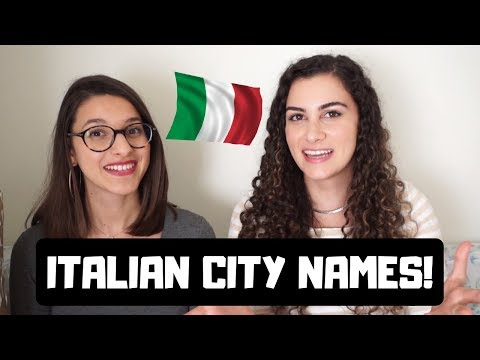 LEARN ITALIAN: How To Pronounce Italian City Names Ft. Rome Inside