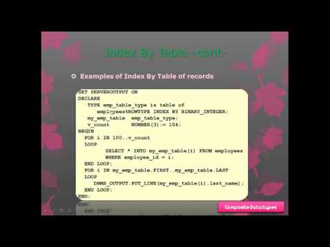 (Practice 4)  Composite data types