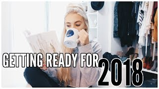 Get Ready With Me for 2018 | Kalyn Nicholson