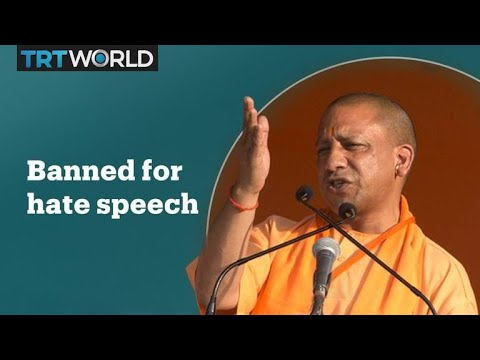 Indian politician banned from campaigning for hate speech