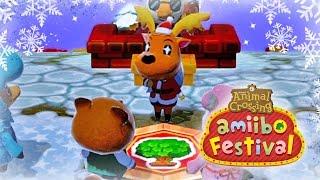 Let's Play Animal Crossing Amiibo Festival in December!!