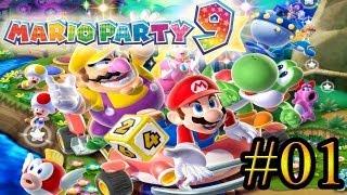 Let's Play: Mario Party 9 - Parte 1