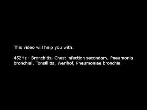 Bronchitis, Chest infection, etc (Isochronic Tones 452 Hz) Pure Series