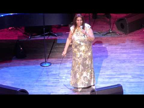 "Aretha Franklin ""Until You Come Back To Me (That's What I'm Gonna Do)"" NJPAC 6/16/16"