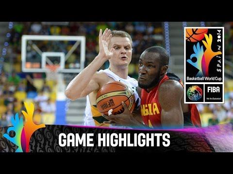 Lithuania v Angola - Game Highlights - Group D - 2014 FIBA Basketball World Cup