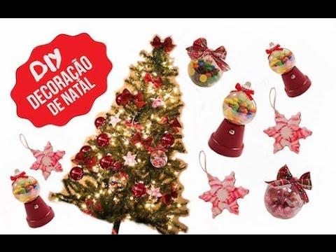 Resultado de imagem para imagens 3 IDEIAS de Artesanato para o NATAL | Árvore de natal e bolas de natal
