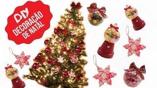 3 IDEIAS de Artesanato para o NATAL – Árvore de natal e bolas de natal