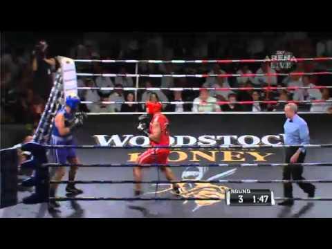 Manu Vatuvei v Eric Murray Fight for Life 2012