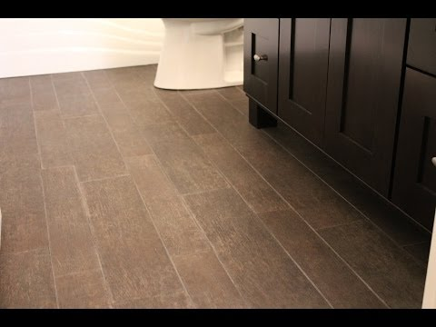 Installing Tile That Looks Like Hardwood