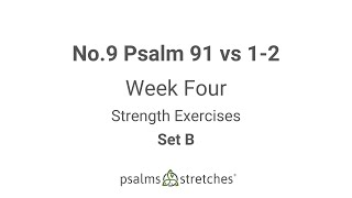 No.9 Psalm 91 vs 1-2 Week 4 Set B