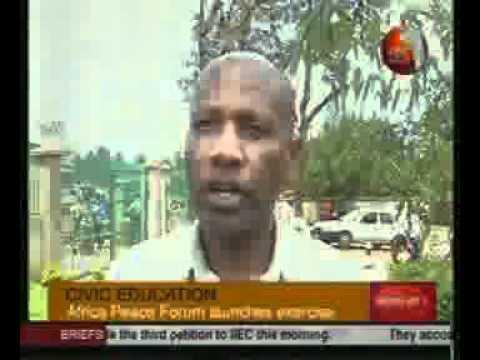 Eldoret Regional Forum   KBC Broadcast