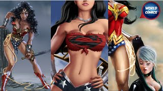 WONDER WOMAN AS3SIN4 Y OTRAS PELEAS ENTRE SUPERHEROES