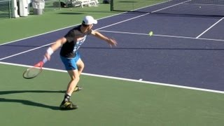Andy Murray Ultimate Compilation - Forehand - Backhand - Serve - 2013 Indian Wells