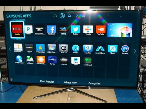 Samsung 6350 Smart Tv Review Part 2 Youtube